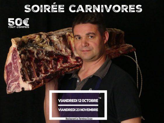 Soirée Carnivores
